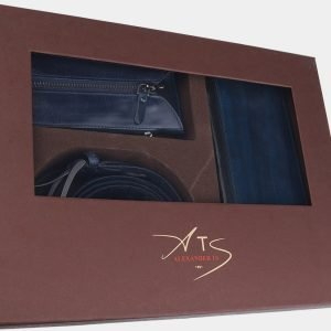 Уникальный синий подарочный набор ATS-1842