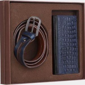Уникальный синий подарочный набор ATS-1846