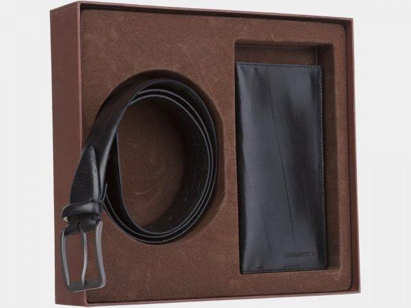 Стильный черный подарочный набор ATS-1851