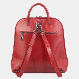 Удобный красный рюкзак с росписью ATS-2472 215172
