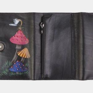 Уникальный черный аксессуар с росписью ATS-2485 215158