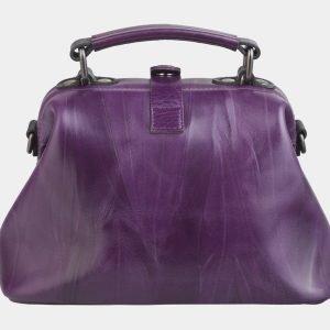 Модная фиолетовая сумка с росписью ATS-2496 215120