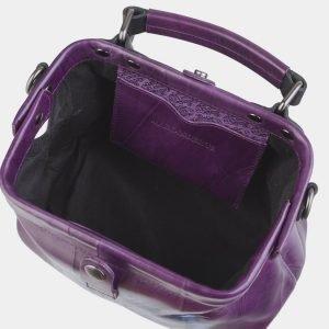 Модная фиолетовая сумка с росписью ATS-2496 215121