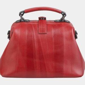 Уникальная красная сумка с росписью ATS-2497 215115