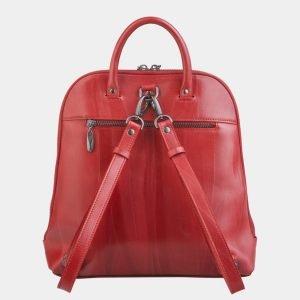 Стильный красный рюкзак с росписью ATS-2495 215125