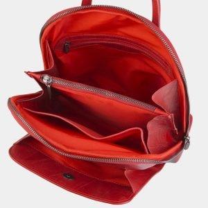 Стильный красный рюкзак с росписью ATS-2495 215126