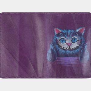 Солидный фиолетовый аксессуар с росписью ATS-2493 215133