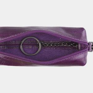 Уникальный фиолетовый аксессуар с росписью ATS-2490 215146
