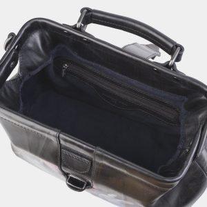 Солидная синяя сумка с росписью ATS-2498 215111