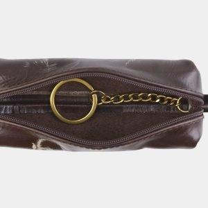 Уникальный коричневый аксессуар с росписью ATS-2491 215142