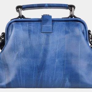 Уникальная голубовато-синяя сумка с росписью ATS-1956 216100