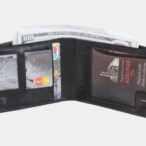 Уникальный черный портмоне ATS-1926 216128
