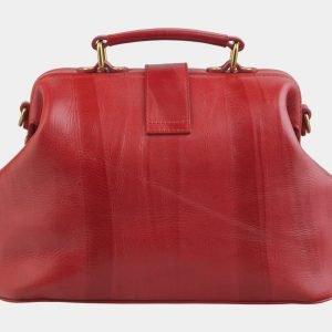 Деловая красная сумка с росписью ATS-2507 215088