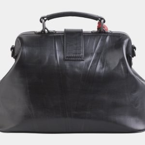 Деловая черная сумка с росписью ATS-2508 215083