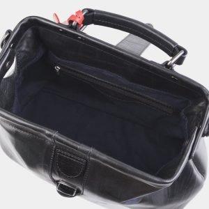Деловая черная сумка с росписью ATS-2508 215084