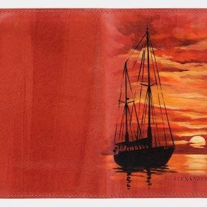 Уникальный оранжевый аксессуар с росписью ATS-2033 215944