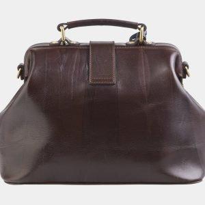 Солидная коричневая сумка с росписью ATS-2511 215068