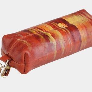 Функциональный оранжевый аксессуар с росписью ATS-2034