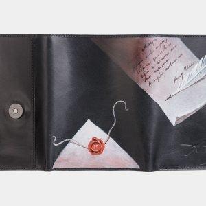 Неповторимый черный аксессуар с росписью ATS-3466 212391