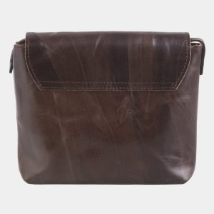 Уникальный коричневый клатч с росписью ATS-2503 215102