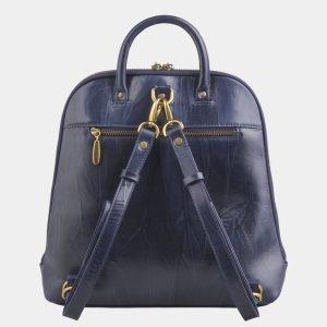 Солидный синий рюкзак с росписью ATS-2528 215004