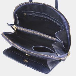 Солидный синий рюкзак с росписью ATS-2528 215005