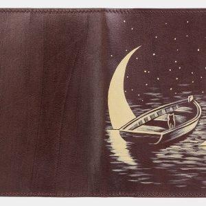Уникальный коричневый аксессуар с росписью ATS-2036 215932