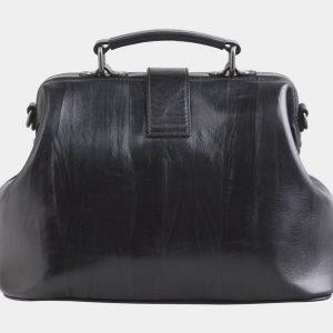 Удобная черная сумка с росписью ATS-2512 215063