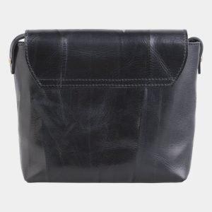 Модный черный клатч с росписью ATS-2515 215054