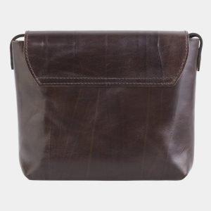 Солидный коричневый клатч с росписью ATS-2516 215050