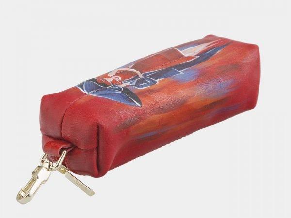 Деловой красный аксессуар с росписью ATS-2583