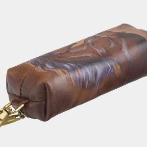 Функциональный светло-коричневый аксессуар с росписью ATS-2584 214840