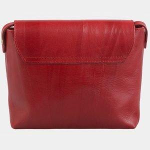 Деловой красный клатч с росписью ATS-2582 214849