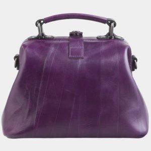 Вместительная фиолетовая сумка с росписью ATS-2601 214775