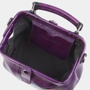 Вместительная фиолетовая сумка с росписью ATS-2601 214776