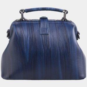 Уникальная синяя сумка с росписью ATS-2602 214770