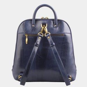 Функциональный синий рюкзак с росписью ATS-2599 214780