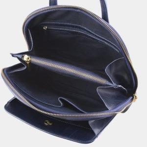 Функциональный синий рюкзак с росписью ATS-2599 214781