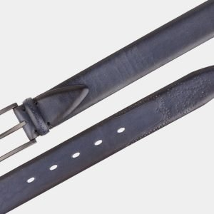 Уникальный синий мужской классический ремень ATS-1987 216077
