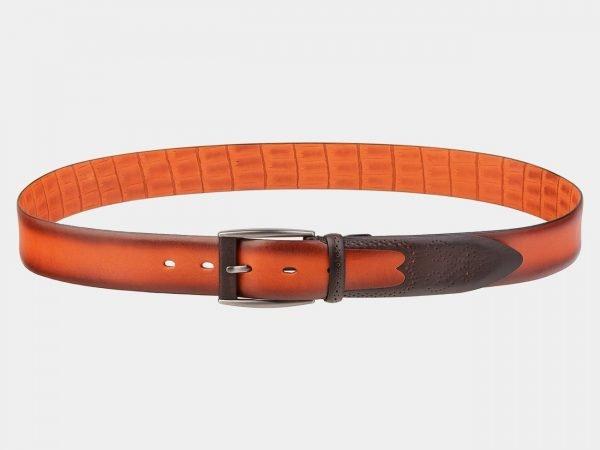 Неповторимый оранжевый мужской классический ремень ATS-1990
