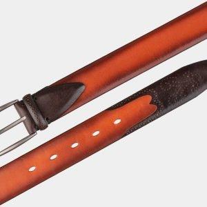 Неповторимый оранжевый мужской классический ремень ATS-1990 216065