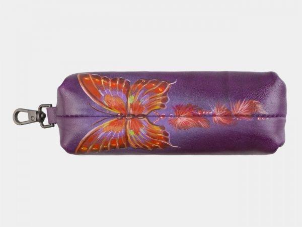 Неповторимый фиолетовый аксессуар с росписью ATS-2588