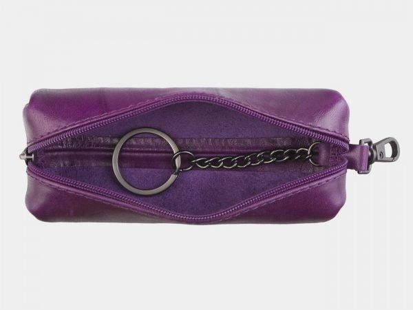 Удобный фиолетовый аксессуар с росписью ATS-2589