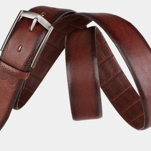 Уникальный светло-коричневый мужской классический ремень ATS-1995 216046