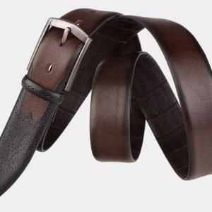 Кожаный коричневый мужской классический ремень ATS-1997 216038