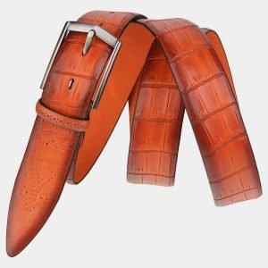Деловой оранжевый мужской классический ремень ATS-2002 216018