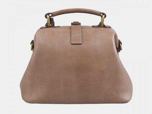 Стильная бежевая сумка с росписью ATS-2561