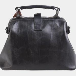 Уникальная черная сумка с росписью ATS-2562 214925