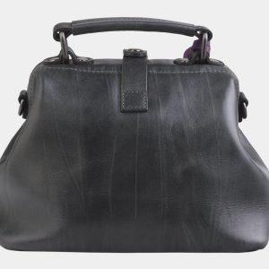 Солидная серая сумка с росписью ATS-2564 214915