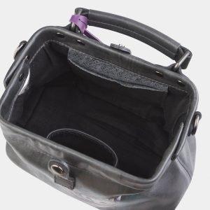 Солидная серая сумка с росписью ATS-2564 214916